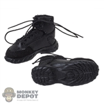Boots: Multifun Mens Black Tactical Boots
