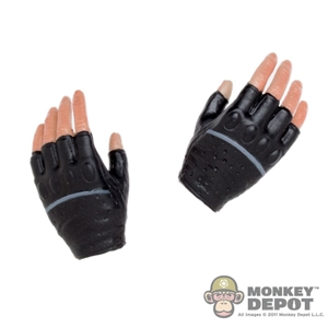 Hands: MIS Toys Black Fingerless Gloved Relaxed