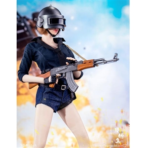 Outfit Set: ManModel Chicken Dinner Female Combat Suit (MM-016)
