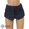 Shorts: ManModel Blue Female Shorts