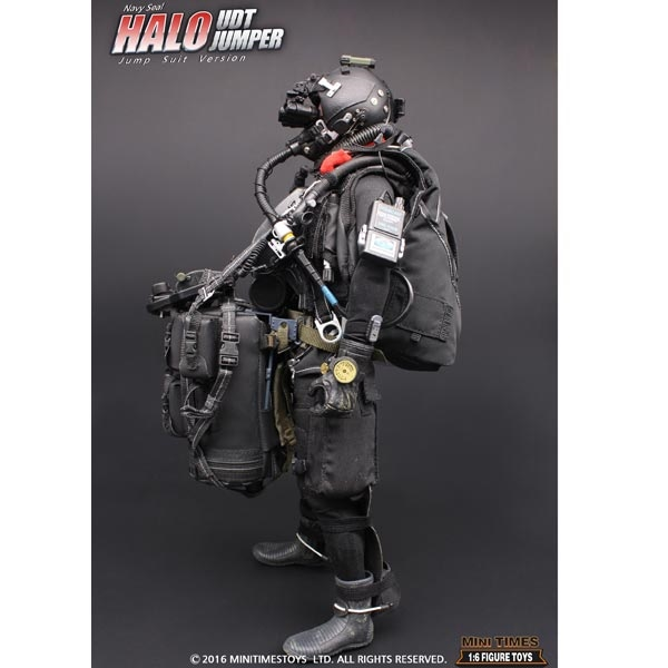 Mini Times US Navy Seal HALO UDT Jumper MT-M004 Navigation Board loose 1//6 scale