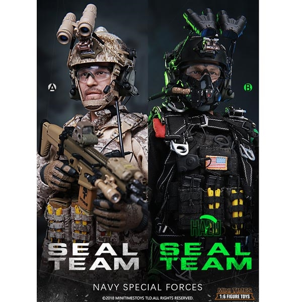 Mini Times Action Figures 1//6 Scale Altimeter Seal Team 2 HALO