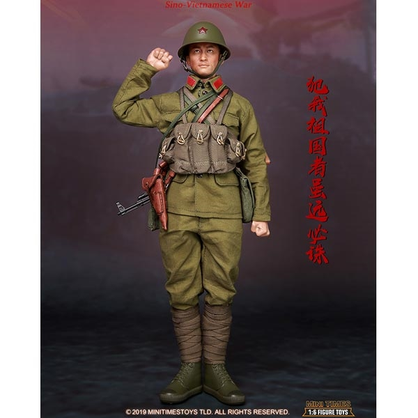 Mini Times Action Figures PLA Sino-Vietnamese War 1//6 Scale Green Helmet