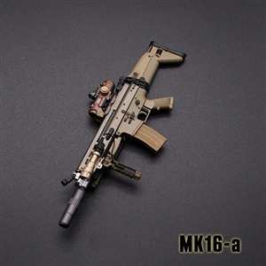 Rifle Set: Mini Times MK16 + MK17