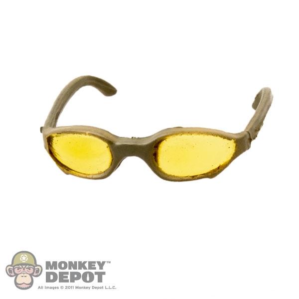 Monkey Depot - Glasses: Mini Times Yellow Tinted Sunglasses