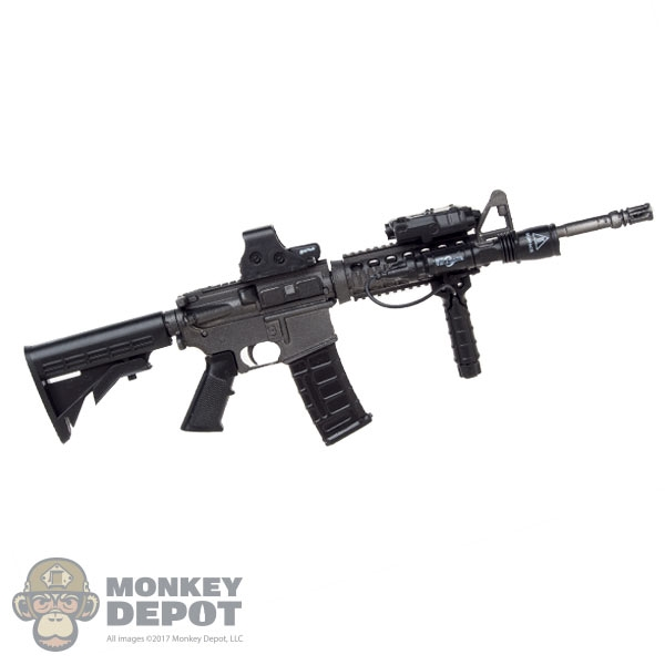 monkey depot rifle mini times m4 carbine w sight laser grip light
