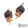 Hands: Mini Times Molded Tactical Gloved w/Wrist Pegs