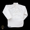 Shirt: Mini Times White Middle-Eastern Long Sleeve Shirt