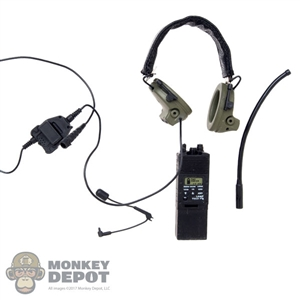 Radio: Mini Times AN/PRC 148 w/Peltor COMTEC II Headset