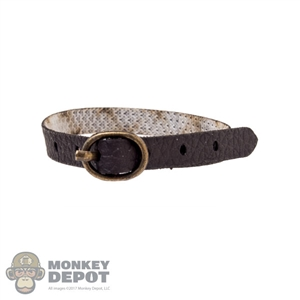 Belt: Mini Times Brown Leatherlike Belt w/Buckle