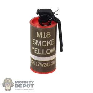 Grenade: Mini Times M18 Smoke Grenade Yellow