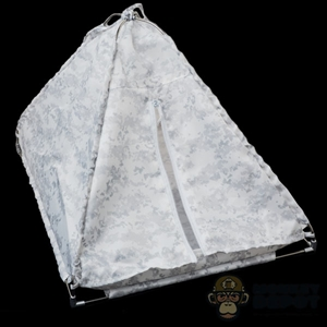 Tent: Mini Times Military Tent (Snow Camo)
