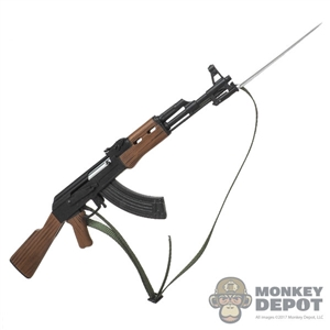 Rifle: Mini Times Type 56 Machine Gun w/Under-Folding Bayonet