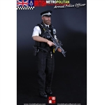 Boxed Figure: Modeling Toys British Metro Police - Armed Police Officer (MMS-9002)