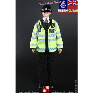 Modeling Toys British MPS Female Police Officer (MMS-9005)