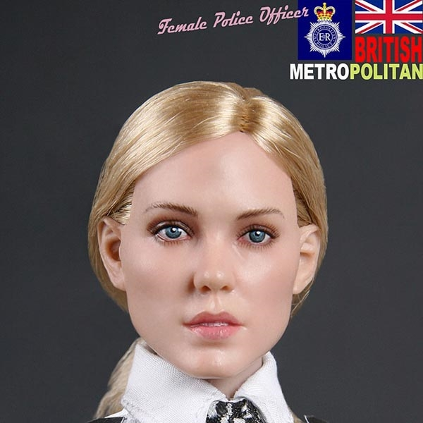 Boxed Figure: Modeling Toys British MPS Female Police Officer (MMS-9005)
