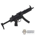 Rifle: Modeling Toys MP5A3 Submachine Gun w/Retractable Stock