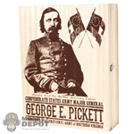 Display: Mohr Toys Wooden George E. Pickett Display Box