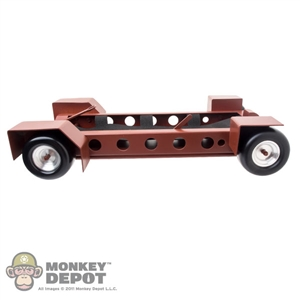 INCOMPLETE Vehicle: DiD Metal 4 Wheel Trailer (READ NOTES)