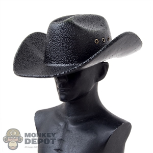 Hat: MomToys Black Molded Cowboy Hat