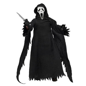 "Collectible Figure: Neca Scream Clothes 8"" - Ghost Face"