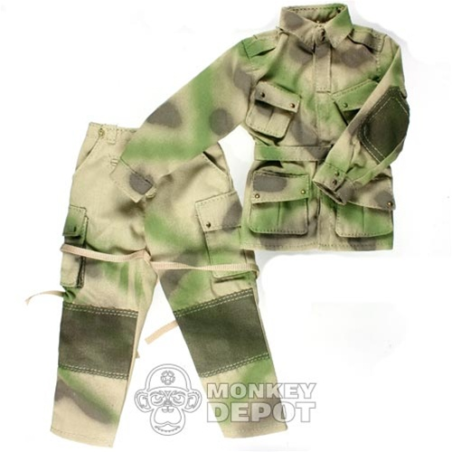 huge selection of 8f006 7ba0b Uniform: Newline Miniatures US WWII M42 Paratrooper reinforced Pathfinder  Soft Camo