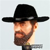 Hat: Newline Miniatures Cowboy Felt Black
