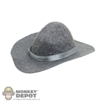 Hat: Newline Miniatures Western Tom Horn Hat - Grey