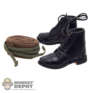 Boots: Newline Miniatures Russian Ankle Boots w/Puttees