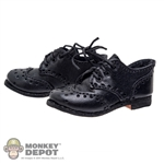 Shoes: Newline Miniatures Oxford Black