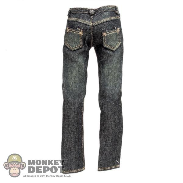 e71429814cb2 Monkey Depot - Pants: Crazy Owner Black Jeans (Dirty)