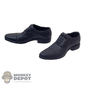 Shoes: OneToys Black Molded Shoes