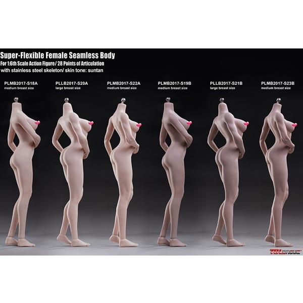 Boxed Figure: TBLeague Super Flexible Seamless Female Body Series