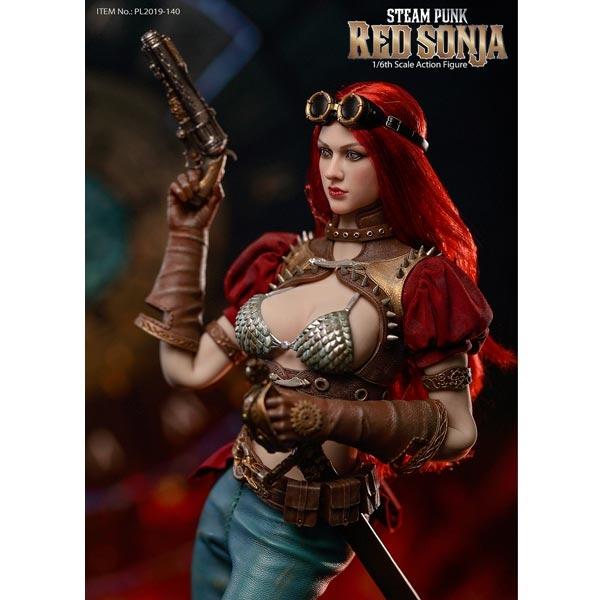 "TBLeague PL2019-140 1//6 Scale Steam Punk Red Sonja 12/"" Action Figure Axe Model"