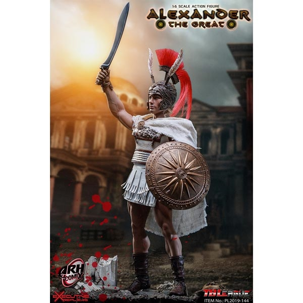 1//6 Scale TBLeague PL2019-144 Alexander the Great white skirt