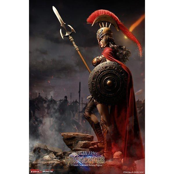 """TBLeague 1:6 PL2020-165C Golden Spartan Army Commander Head Fit 12/"""" Body Presale"""