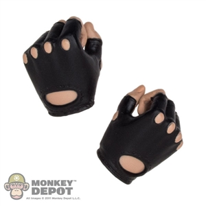 Hands: TBLeague Black Molded Fingerless Stake Holding Grip