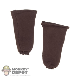 Socks: TBLeague Brown Half Socks
