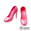 Shoes: TBLeague Pink High Heeled Shoes
