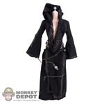 Outfit: TBLeague Black Robe w/Chains, Skulls, Cuffs & Knife