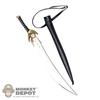 Knife: TBLeague Metal Sword w/Belt & Sheath