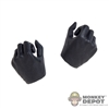 Hands: TBLeague Female Black Molded Weapon Grip