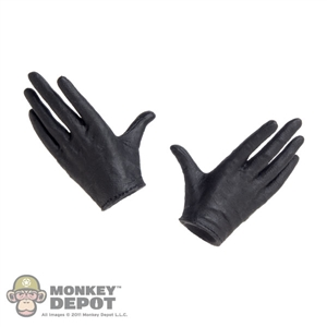 Hands: TBLeague Female Black Molded Relaxed
