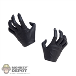 Hands: TBLeague Female Black Molded Grasping Grip