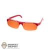 Glasses: TBLeague Red Rimmed Sun Glasses