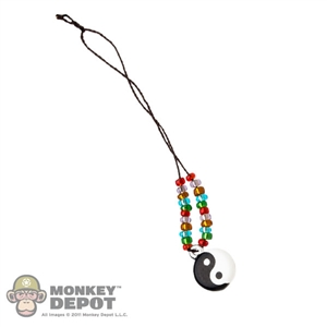 Necklace: TBLeague Necklace w/Ying & Yang Charm