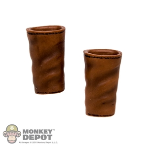 Armor: TBLeague Female Brown Forearm Guards