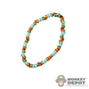 Necklace: TBLeague Multi Colored Bead Necklace