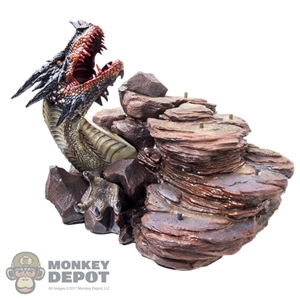 Display: TBLeague Red Sonja Dragon Base
