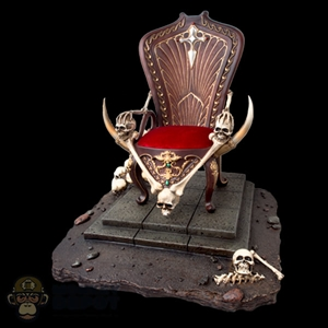 Display: TBLeague Lady Death's Throne & Base